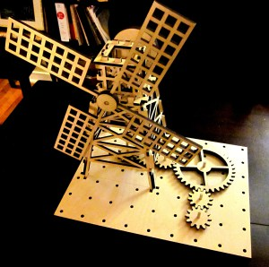 Laser Cut Windmill